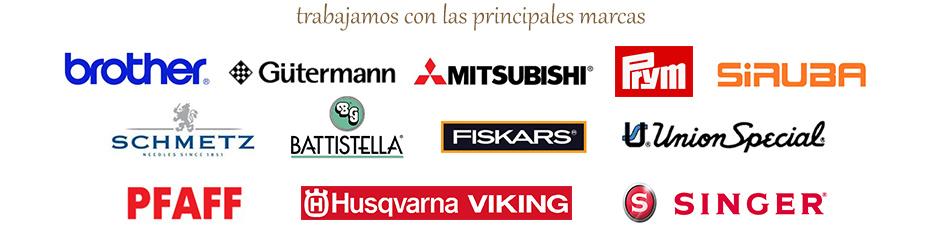 Logos Máquinas de coser Pamplona